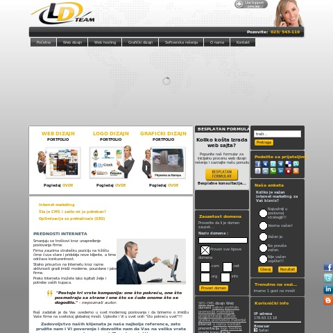 LD Team - Web dizajn i hosting